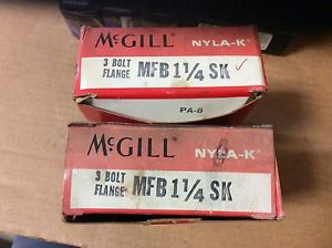 high temperature 2-McGILL, Bearings# MFB 1/1/4SK,Free shipping to lower 48, 30 day warranty