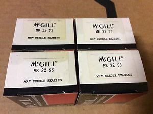 high temperature 4-McGILL bearings#MR 22 SS ,Free shipping lower 48, 30 day warranty!