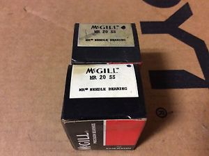 high temperature 2-McGILL bearings#MR 20 SS ,Free shipping lower 48, 30 day warranty!