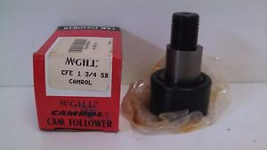 high temperature  OLD STOCK! MCGILL CAMROL CAM FOLLOWER CFE-1-3/4-SB