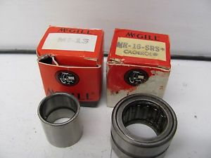 high temperature LOT OF 2 MCGILL PRECISION BEARINGS MR-16-SRS & MI-13
