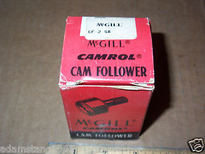 high temperature MCGILL CAMROL CAM FOLLOWER CF2B HEX SOCKET 2 IN DIAMETER