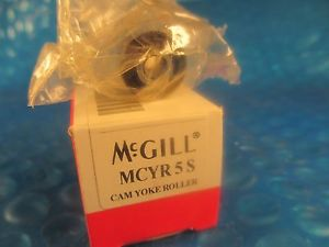 high temperature McGill MCYR5 S, MCYR 5 S, 5 mm Metric Cam Yoke Roller