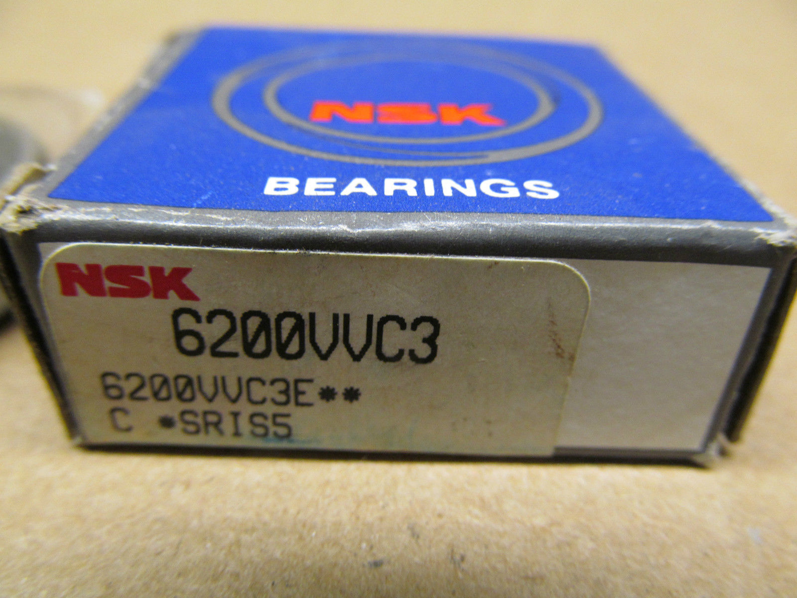 high temperature 1 NIB NSK 6200VVC3 DEEP GROOVE BALL BEARING
