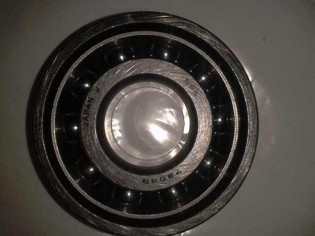 high temperature 7306.B STEEL CAGE 30mm id x 72mm x 19mm wide,ANGULAR CONTACT BALL BEARINGS,NSK