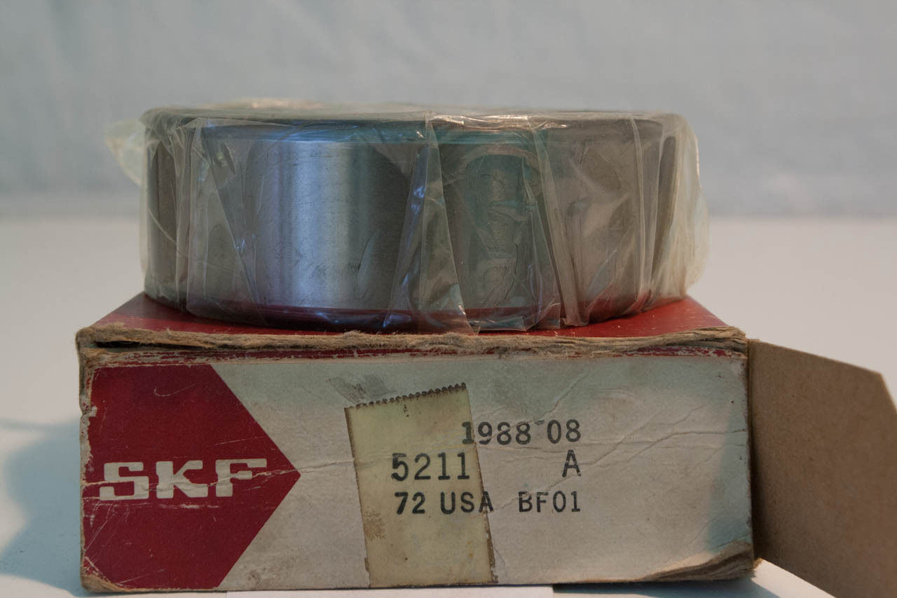 "high temperature ""  OLD"" SKF Double Row Ball  Bearing 5211A   (2 Available)"
