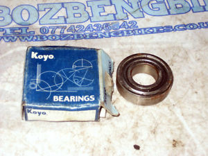 high temperature Koyo 60032 RS Deep Groove Ball Bearing 17 x 35 x 10 mm New Old Stock