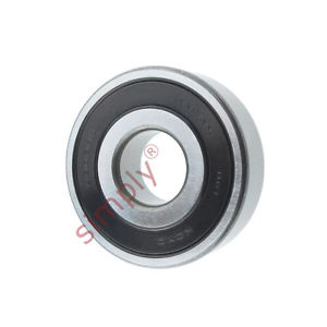 high temperature KOYO 63032RS Rubber Sealed Deep Groove Ball Bearing 17x47x14mm