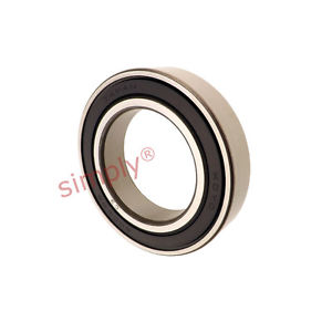 high temperature KOYO 60092RSC3 Rubber Sealed Deep Groove Ball Bearing 45x75x16mm