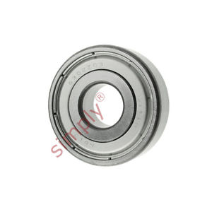 high temperature KOYO 63022ZC3 Metal Shielded Deep Groove Ball Bearing 15x42x13mm