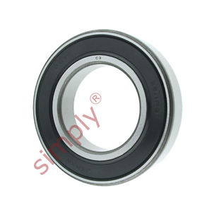 high temperature KOYO 62112RSC3 Rubber Sealed Deep Groove Ball Bearing 55x100x21mm