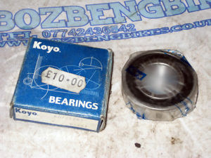 high temperature Koyo 60/222RS Deep Groove Ball Bearing 22 x 44 x 12mm New Old Stock