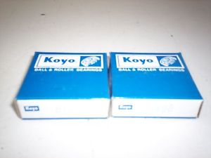 high temperature LOT 2 NOS! KOYO BALL BEARINGS 8498