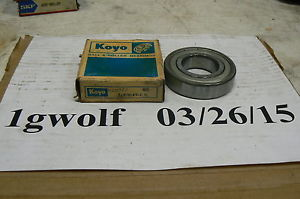 high temperature KOYO 6207-ZZ SINGLE ROW DEEP GROOVE BALL BEARING