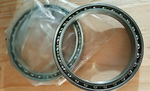 high temperature Lot of 2,  6816 Deep Groove  Redial Ball Bearings 80x100x10 mm