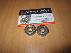high temperature 606ZZ SHEILDED BALL BEARING 6MM X 17MM X 6MM KOYO