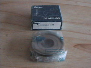 high temperature KOYO JAPAN 6303 ZZ DOUBLE METAL SHIELD SEAL BALL BEARING 17mmX47mmX14mm 6303