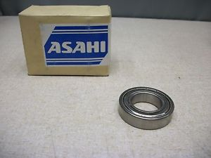 high temperature Asahi SS6006ZZ Stainless Steel 6006 ZZ Bearing