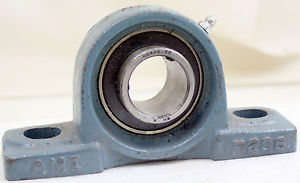 high temperature AMI P206 Pillow Block Bearing Assembly Asahi UC206-20 Bearing W/ Grease Zerk