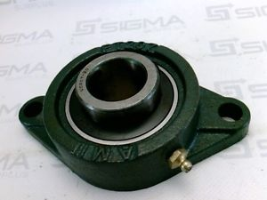 high temperature Asahi FT207 UC207 UC207-20 2 Bolt Flange Bearing