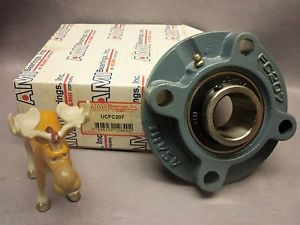 high temperature AMI Asahi Bearings UCFC207 4-Bolt Flange Mount Bearing