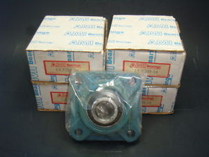 "high temperature  LOT OF 4 AMI, UCF205-14, 7/8"" 4 BOLT FLANGE BEARING,  IN FACTORY BOX"
