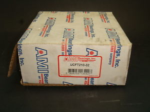 "high temperature 1 , AMI, UCFT210-32, 2"", SET SCEREW LOCKING, 4 BOLT FLANGE UNIT,  IN BOX"