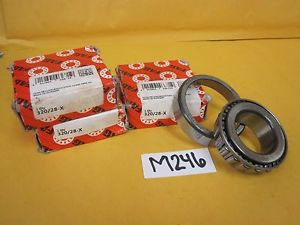high temperature Three (3) FAG 320/28X Metric Tapered Roller Bearing & Cup / Race
