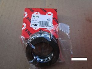 high temperature FAG 51106, Grooved Race Thrust Bearing (=2 NTN, NSK, SKF,)
