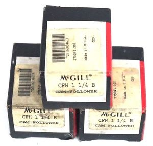 high temperature LOT OF 3 NIB MCGILL CFH 1 1/4 B CAM FOLLOWERS CFH114B