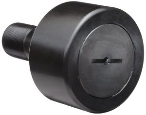 high temperature McGill CF1 1/2 Cam Follower, Standard Stud, Unsealed/Slotted, Inch, Steel,