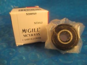 high temperature McGill MCYR8 SX, MCYR8 SX, MCYR 8 SX, 8mm Metric Cam Yoke Roller