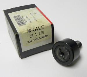 "high temperature BRAND  IN BOX MCGILL CF 1-1/8 CAMFOLLOWER 1-1/8"" X 1-21/32' X 5/8"" (3 AVAIL.)"