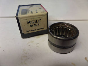 high temperature McGill Needle Bearing MR 16 S MR16S New
