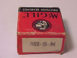 "high temperature McGill Precision Bearings MI-8-N  .500"" x.750"" x.750"" New Old Stock"