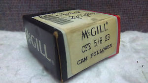 high temperature MCGILL CAM FOLLOWER CFE 5/8 SB  CFE58SB
