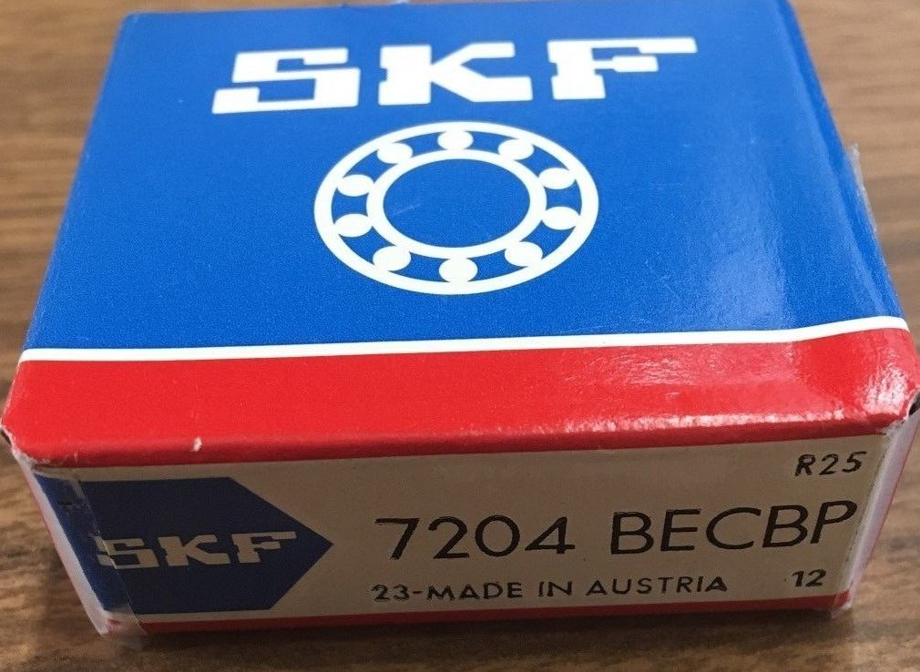 high temperature 10x 7204-BECBP SKF Angular Contract, Ball Bearing 20X47X14 (mm)