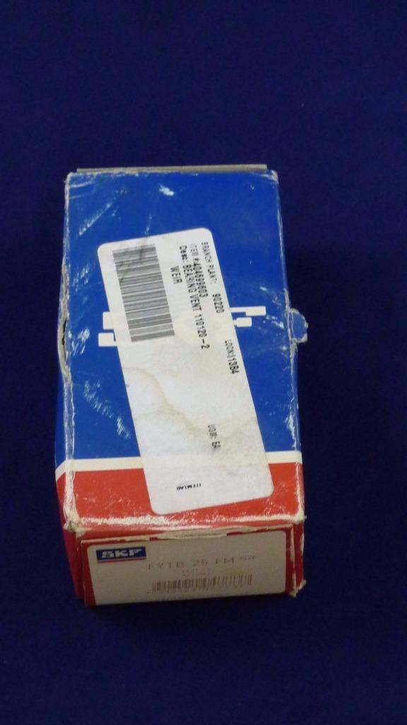 high temperature SKF FYTB 25 FM Flange Mount Two Bolt Ball Bearing Unit 25mm Bore Diameter
