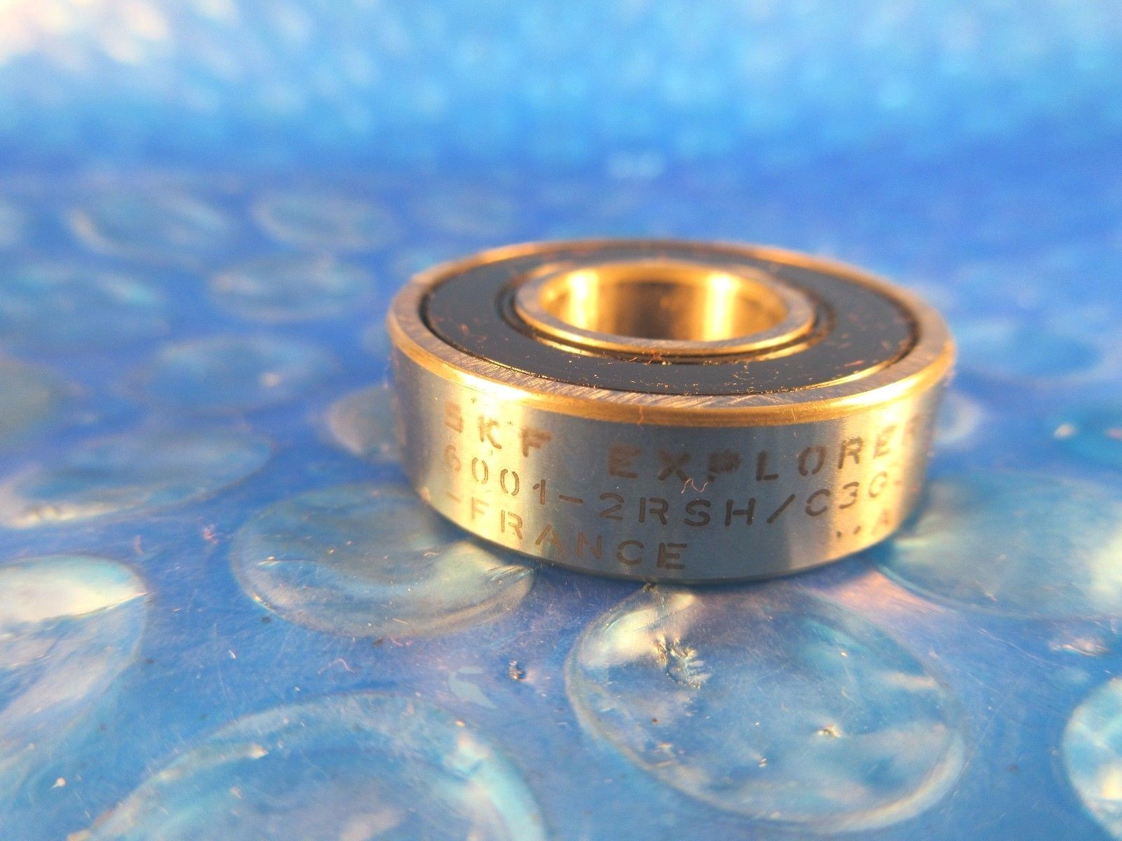 high temperature SKF 6001 2RSH C3, 60012RSHC3, Explorer Deep Groove Ball Bearing ,Made in  France