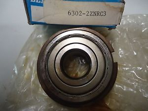 high temperature Fag 6302-2ZNRC3 Bearing with snap ring