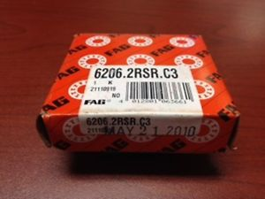 high temperature 62062RSRC3 FAG New Bearing 6206.2RSR.C3