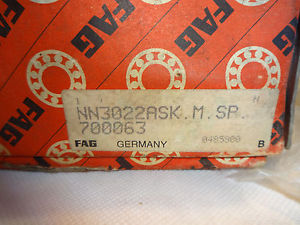 high temperature  IN BOX FAG NN3022ASK-M-SP SKF NN3022-KTN9/SPW33  SUPER PRECISION BEARING