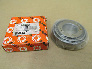 high temperature NIB FAG 30305CZ TAPERED ROLLER BEARING & RACE CONE CUP 30305 CZ 30305Z 30305C