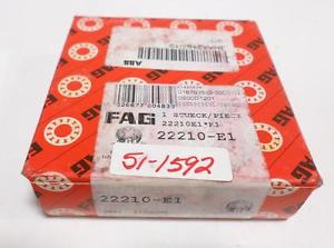 high temperature FAG BEARING 22210-E1 NIB