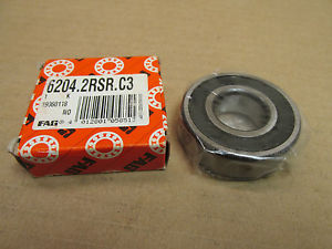 high temperature NIB FAG 6204 2RSR BEARING DOUBLE RUBBER SHIELD 62042RSR 62042RS 20x47x14 mm