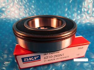 high temperature SKF 6210 2RS N1, Single, Deep Groove Roller Bearing (=2 NTN, NSK, FAG)