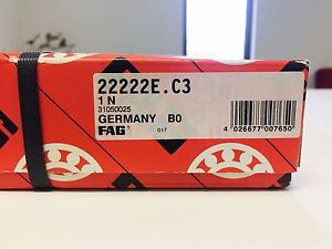 high temperature 22222 FAG BRAND –  IN BOX – FREE SHIPPING – SPHERICAL ROLLER BEARING