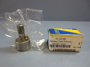 "high temperature 1 Nib Carter SC-32-SB Cam Follower Bearing OD 1.000"" .625"" Width Stud D 0.500'"