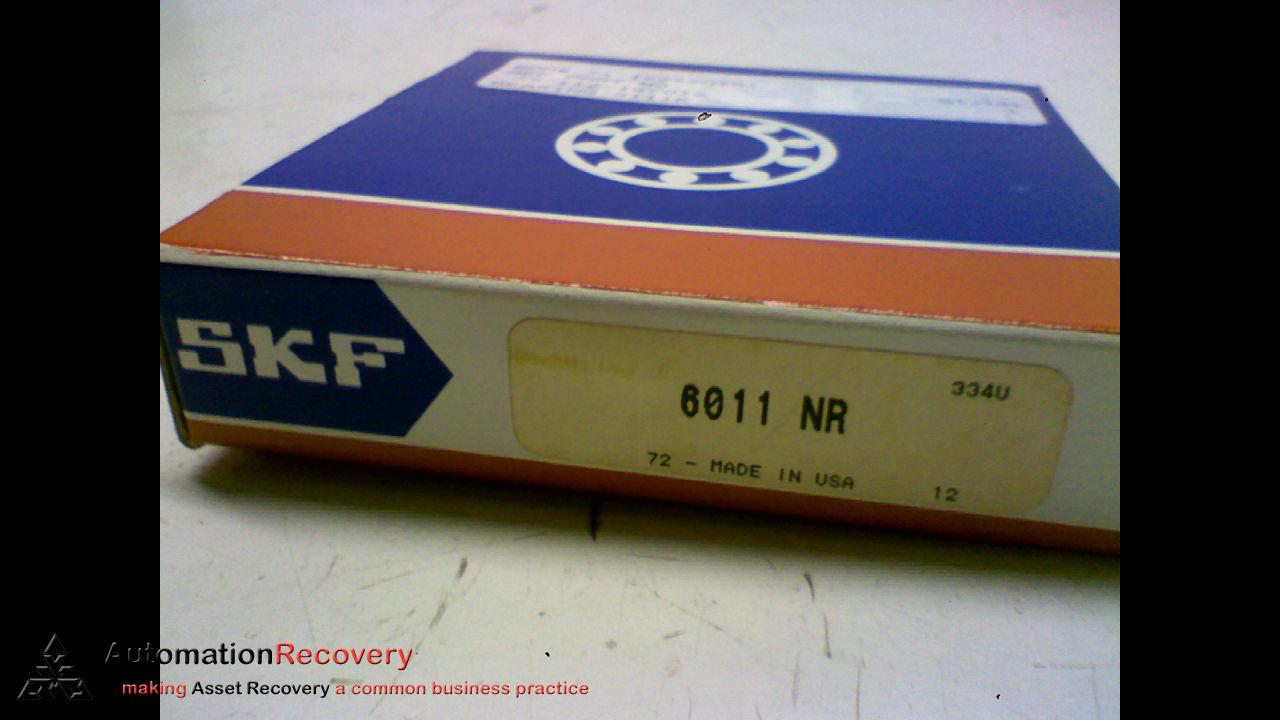 high temperature SKF 6011 NR DEEP GROOVED BALL BEARING INSIDE DIAMETER: 2-1/4IN OUTSIDE,  #164002
