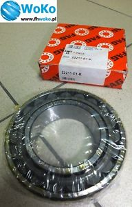 high temperature Bearing 22211 E1.K FAG 55x100x25 spherical roller bearing,fast free shiping